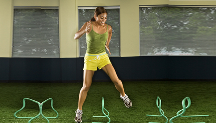 Exercises For Groin Muscles - Lateral Jump