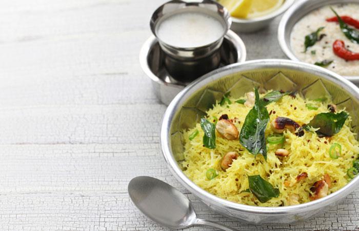 Vegetarian Breakfast Recipes - Vegetable Vermicelli