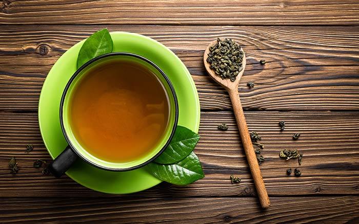 11. Green Tea For Cellulite