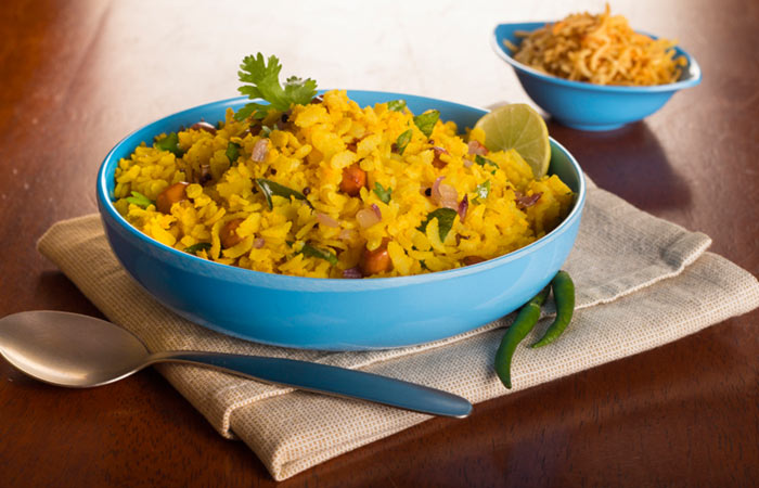 Vegetarian Breakfast Recipes - Poha