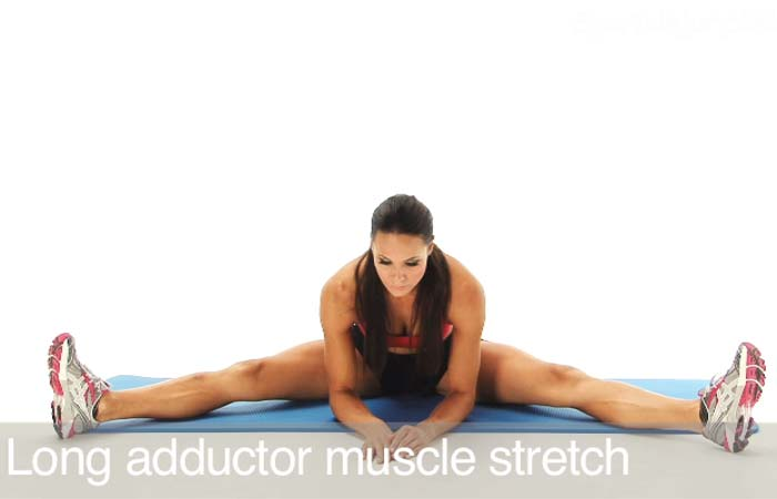 Exercises For Groin Muscles - Long Adductor Stretch