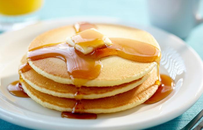 Vegetarian Breakfast Recipes - Whole Wheat Gingerbread Pancake