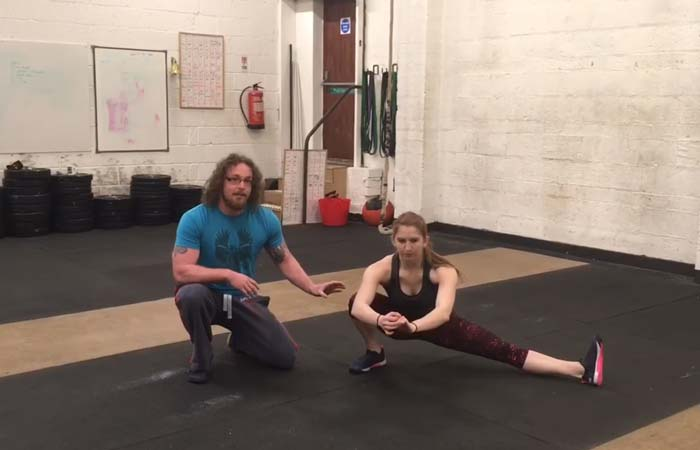 Exercises For Groin Muscles - Cossack Squat