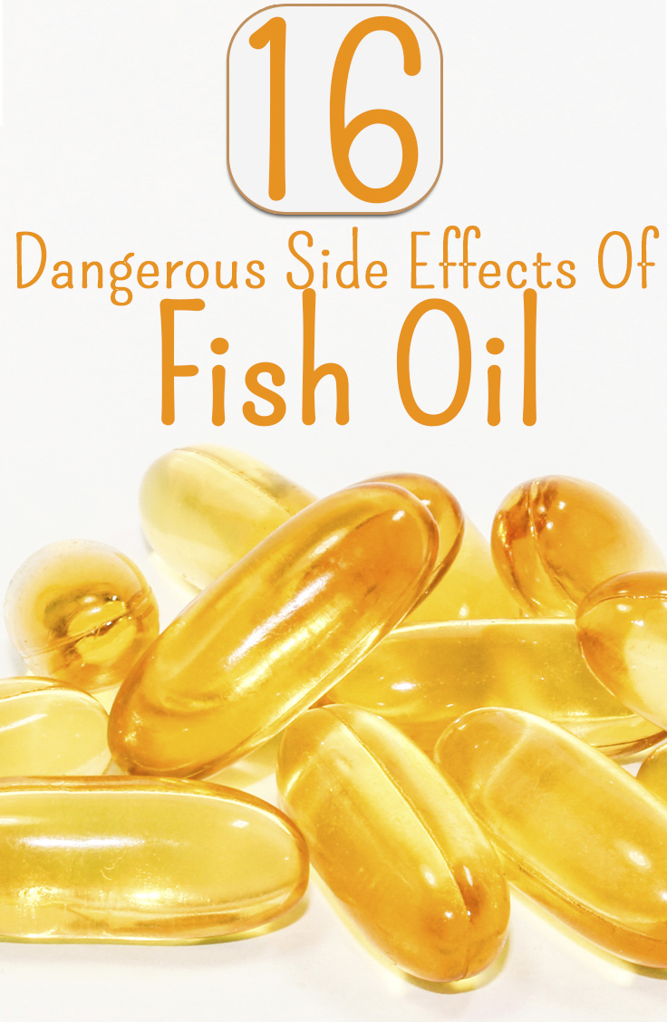 16 dangerous side effects of fish oil