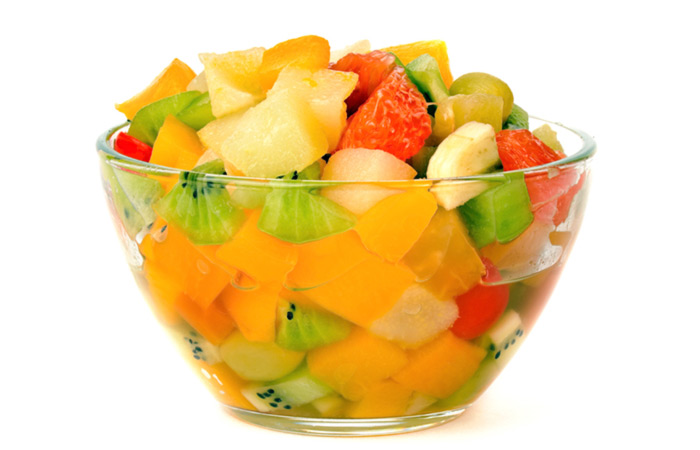 Vegetarian Breakfast Recipes - Breakfast Fruit Bowl