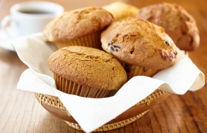 Vegetarian Breakfast Recipes - Apple Carrot Muffin