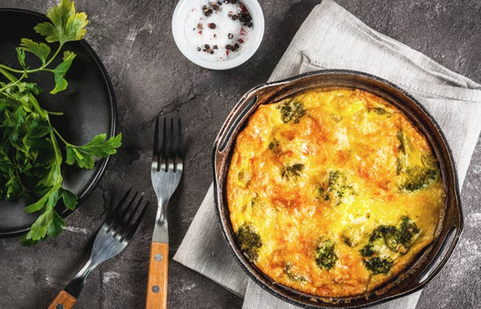 Vegetarian Breakfast Recipes - Vegan Frittata Healthy Breakfast