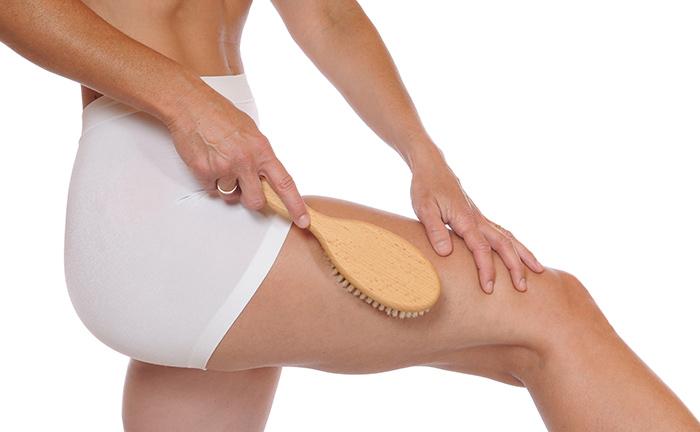 3. Body Brushing For Cellulite