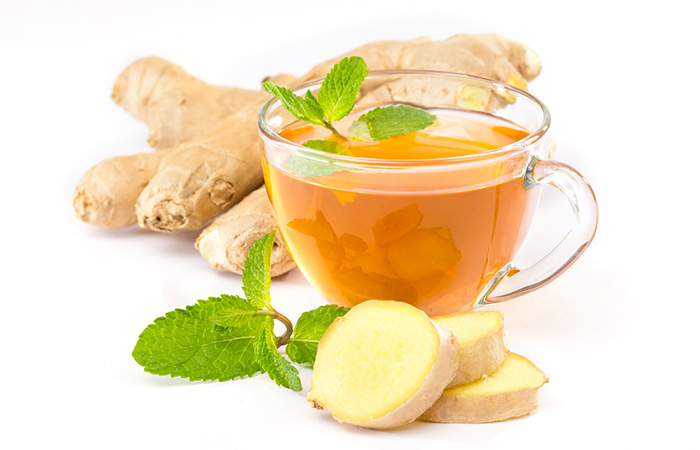 Ginger For Weight Loss - Ginger And Mint Tea
