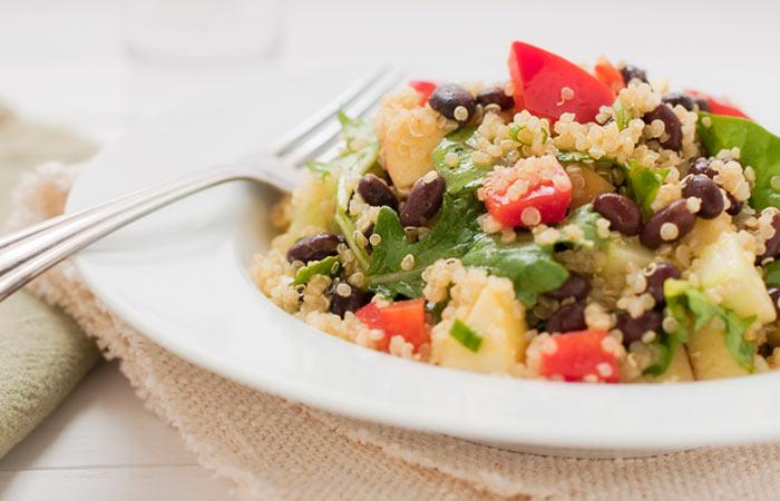 3. Quinoa & Black Bean Breakfast For Weight Loss