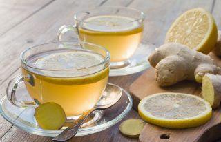 Ginger For Weight Loss - Ginger And Lemon Tea