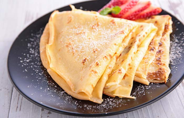 Vegetarian Breakfast Recipes - Vegan Crepes