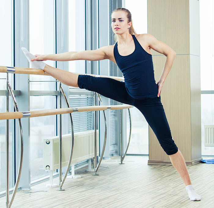 Barre Leg Stretch