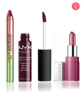 Best Plum Shade Lipsticks Available In India – 2018