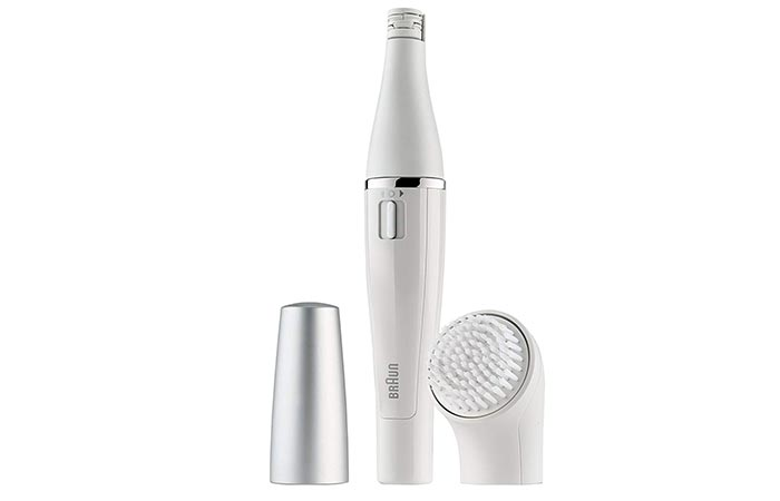 Braun Facial Epilator and Facial Cleansing Brush