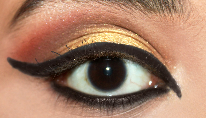 Greek Goddess Eye Makeup Tutorial (6)
