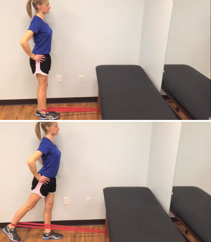 Hip Extension With Band