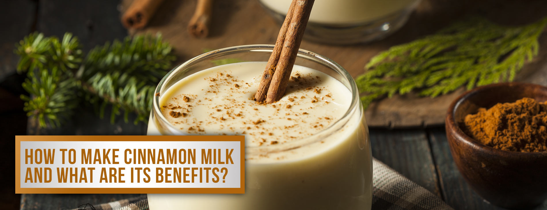 How To Make Cinnamon Milk And What Are Its Benefits