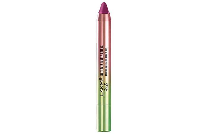 Lakme 9 To 5 Naturale Matte Stick Lipstick In Plum Local