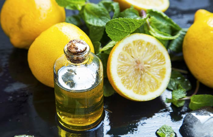 Home Remedies To Treat Jaundice - Lemon Essential Oil