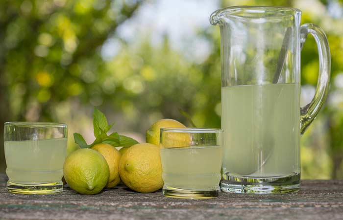 Home Remedies To Treat Jaundice - Lemon Juice