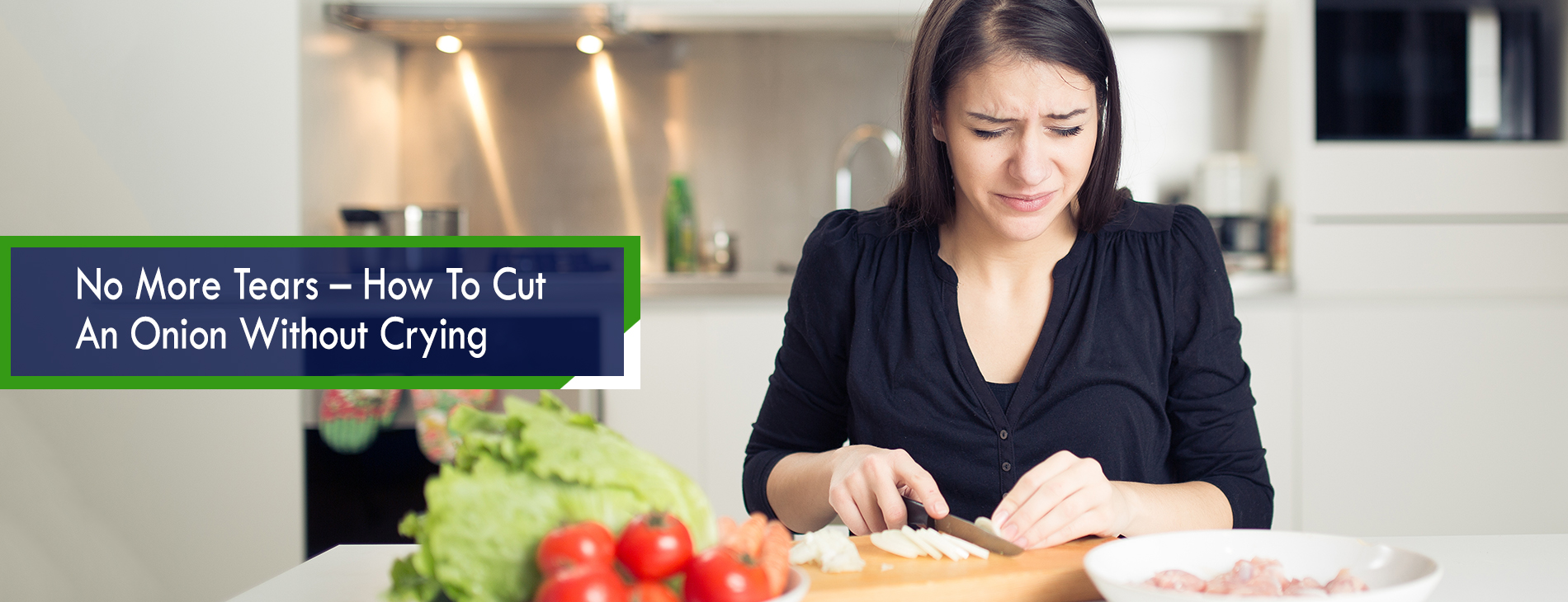 No More Tears – How To Cut An Onion Without Crying