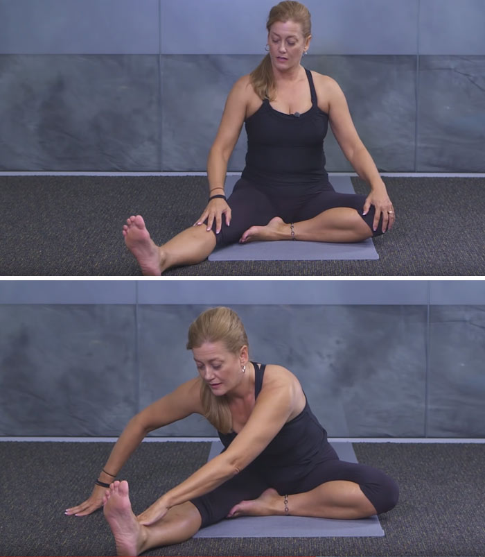 Seated Forward Fold Stretch