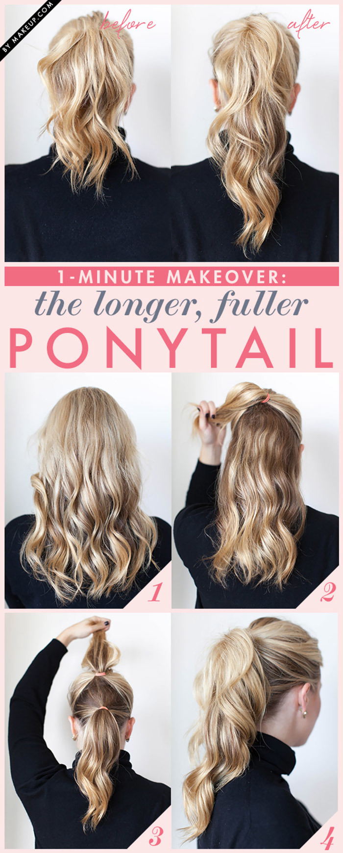 double-ponytail trick