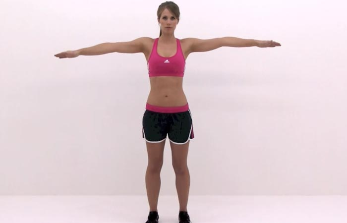 Arm Workouts Without Using Weights - Arm Circles