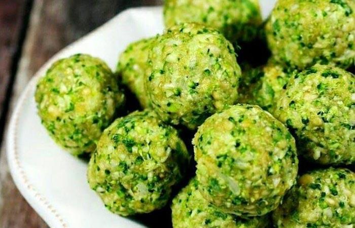 Oil Free Snack Recipes - Broccoli Balls