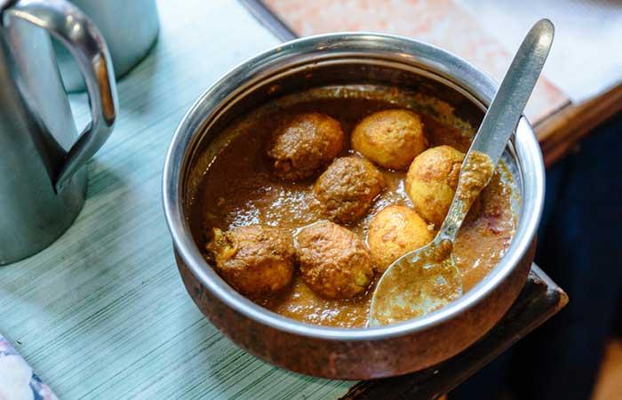 Indian Egg Recipes For Dinner - Egg Butter Masala