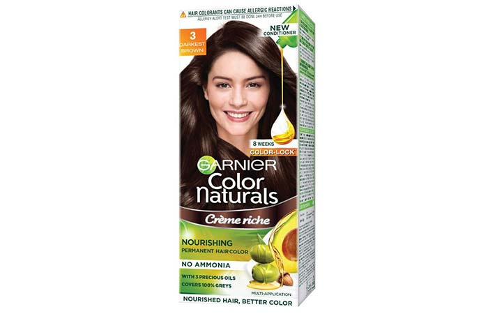 Brown Hair Color - Garnier Color Naturals Darkest Brown