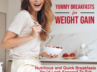 10 Yummy Healthy And High Calorie Breakfasts For Weight Gain