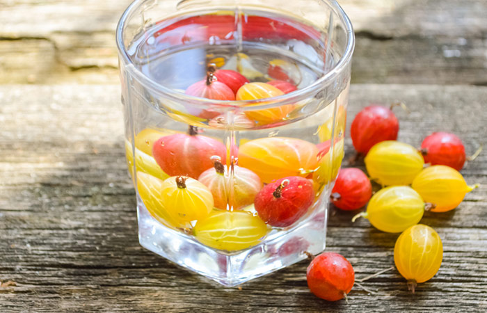 Infused Water Recipes - Gooseberry Cumin Infused Water