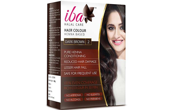 Brown Hair Color - Iba Halal Dark Brown
