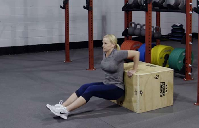 Best Plyometric Exercises - Plyometric Box Dips