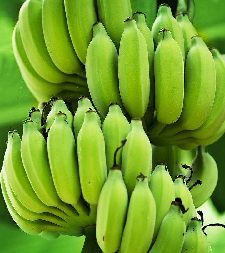 8 Amazing Benefits And Uses Of Green Bananas