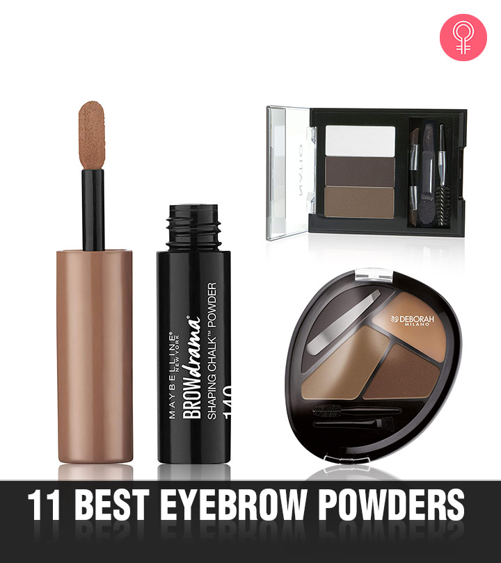 11 Best Eyebrow Powders