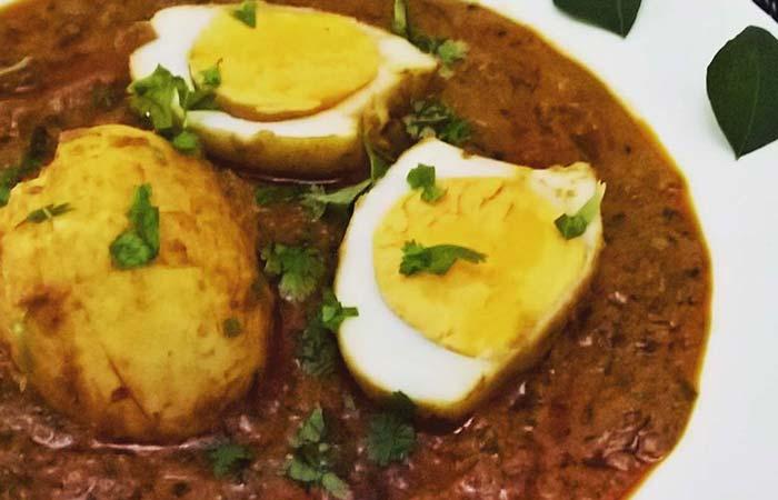 Indian Egg Recipes For Dinner - Egg Tikka Masala