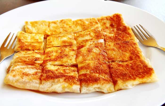 Indian Egg Recipes For Dinner - Egg Parantha