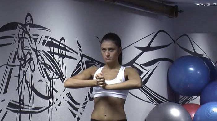 Chest Exercises For Women - Isometric Chest Exercise