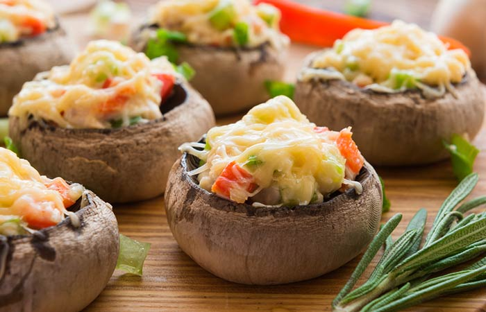 Oil Free Snack Recipes - Gluten-Free Portobello Mushroom Snack