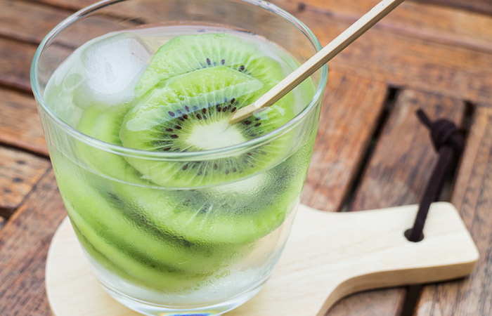 Infused Water Recipes - Kiwi Coconut Infused Water