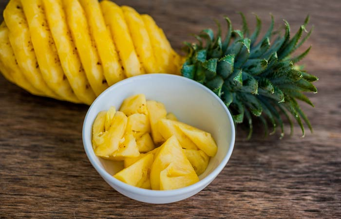 Oil Free Snack Recipes - Spicy Pineapple