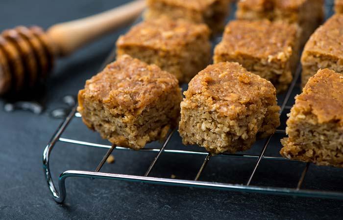 Oil Free Snack Recipes - Vegan Pumpkin Oatmeal Squares