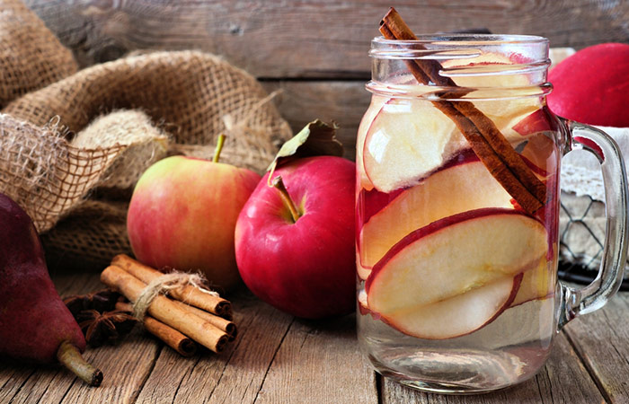 Infused Water Recipes - Apple Cinnamon Infused Water