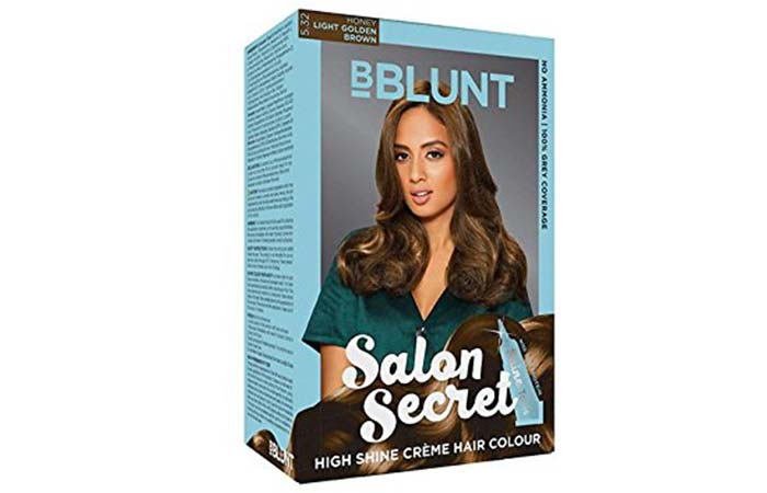 Brown Hair Color - BBLUNT Salon Secret Light Golden Brown