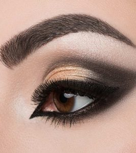 Dramatic Cut Crease Arabic Eye Makeup – Tutorial With Detailed Steps And Pictures