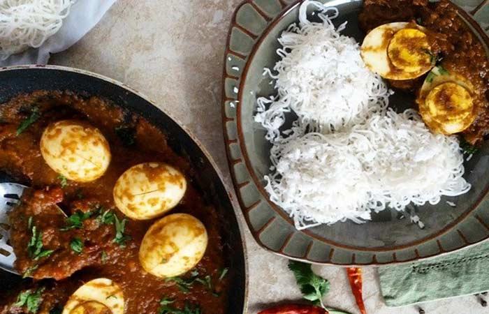 Indian Egg Recipes For Dinner - Egg Vindaloo