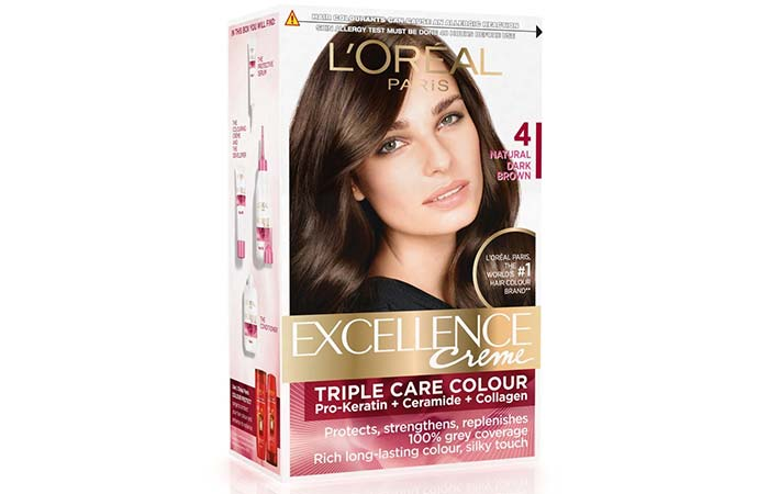 Brown Hair Color - L'Oreal Paris Excellence Creme Natural Dark Brown